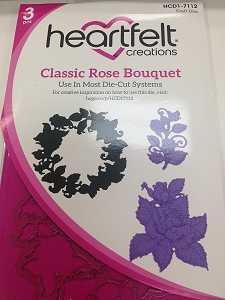 Classic Rose Bouquet Die