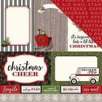 Christmas Delivery 4x6 Journaling Cards