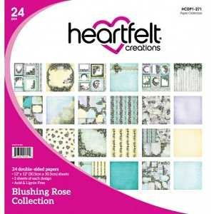 Blushing Rose Collection Paper Pad 12x12