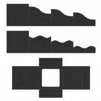 Foldout Cards Black 6x6