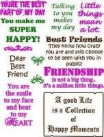Best Friends 12 Stamp Set