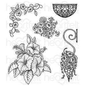 Classic Petunia Bouquet Stamp Set
