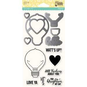Watts Up Die And Stamp Set