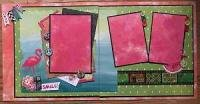 Scrapbook Kit - Flamingo Smile