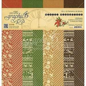 Winter Wonderland Patterns & Solids 12X12 Pad