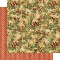 Winter Wonderland Woodland Whimsy Paper