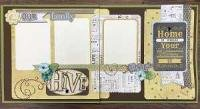 Scrapbook Kit - Our Family Hive
