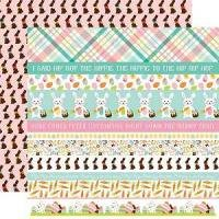 Hello Easter Border Strips Paper