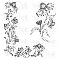 Blossoming Coneflower Stamp Set