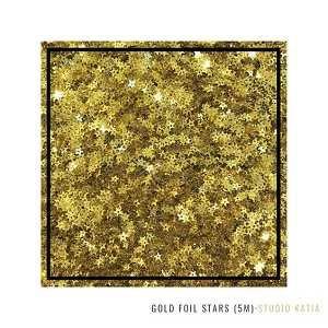 Gold Foil Stars Sequins