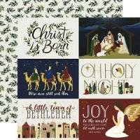 Oh Holy Night 4x6 Journaling Cards Paper
