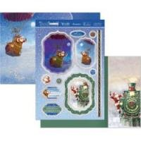 Santa Claus Is Coming To Town Topper
