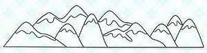 Mountains Stamp Set