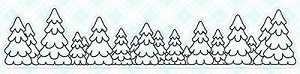 Tree Line Stamp