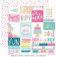 Make A Wish Party Mix Paper