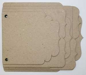 Dingbat Chipboard Album