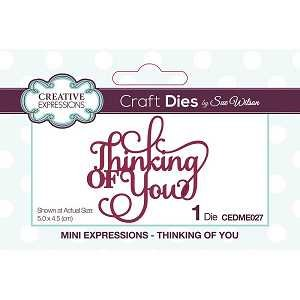 Mini Expressions Thinking Of You Die