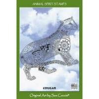 Animal Spirit Cougar Stamp