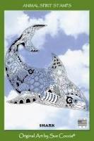 Animal Spirit Shark Stamp