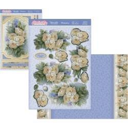 Adorable Scorable Tea Rose Reflection Card Kit