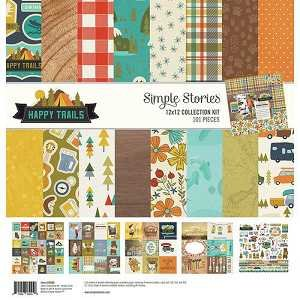 Happy Trails Collection Kit 12 X 12