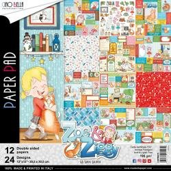 Zoe & Ziggy Paper Pack 12 X 12