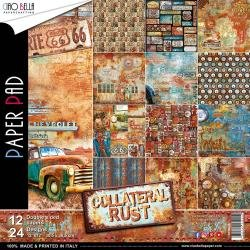 Collateral Rust Paper Pack 12X12