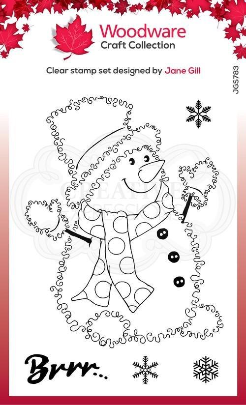 Festive Fuzzies Snowman Stamp Set