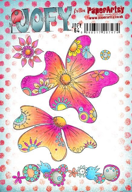 Paper Artsy Stamp Set Jofy 64