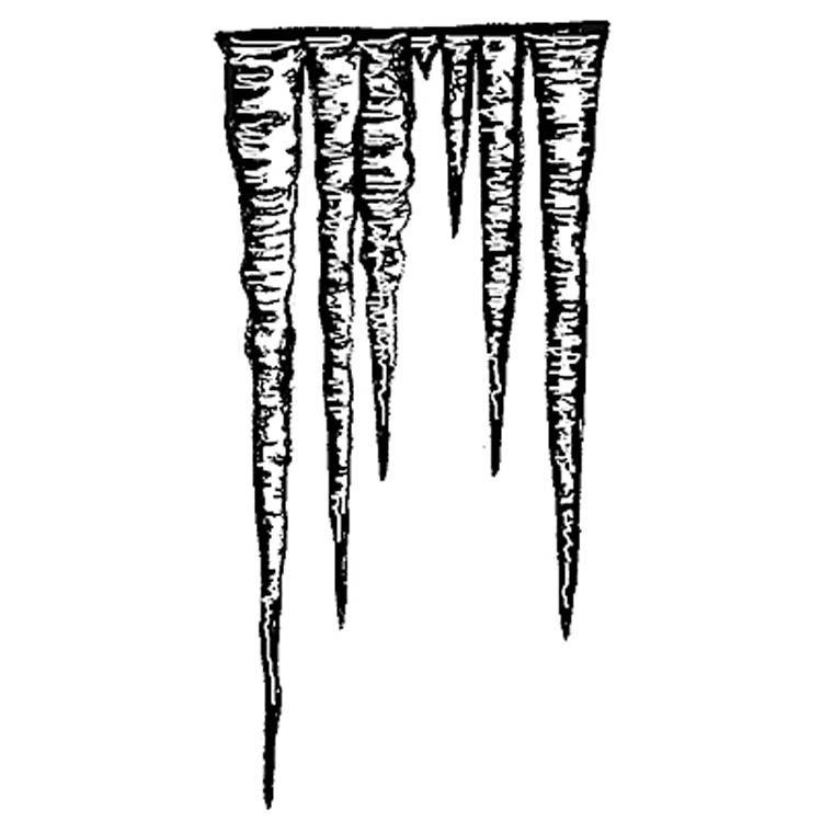 Icicles Stamp