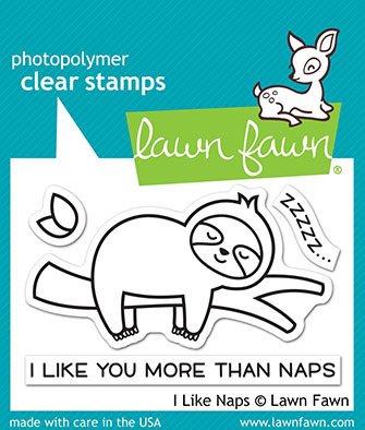 I Like Naps Stamp Set 3X2