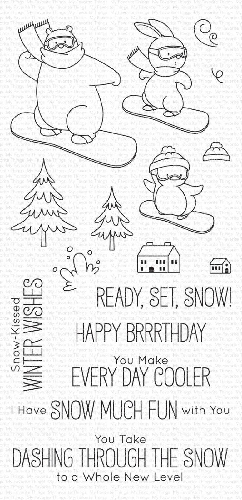 Ready, Set, Snow Stamp Set