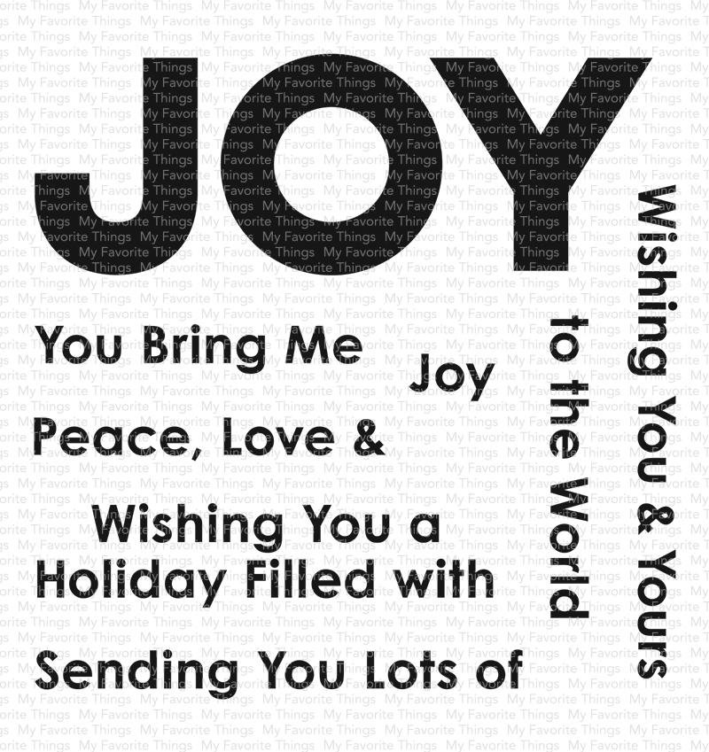 Filled With Joy Stamp Set