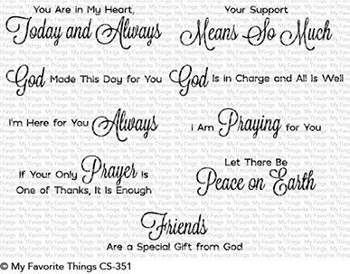 Beautiful Blessings Stamp Set