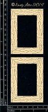 Woodgrain Frames Chipboard Set