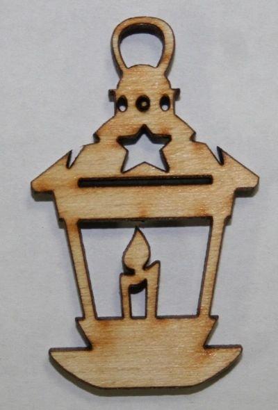 Mini Wood Lantern