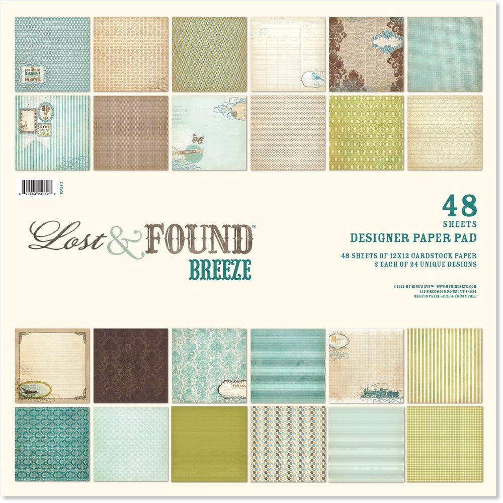 Lost & Found Breeze Paper Pad 12x12