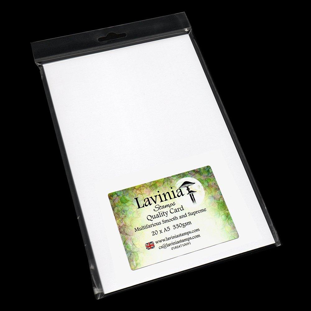 Multifarious Smooth & Supreme Card Paper 10xA5