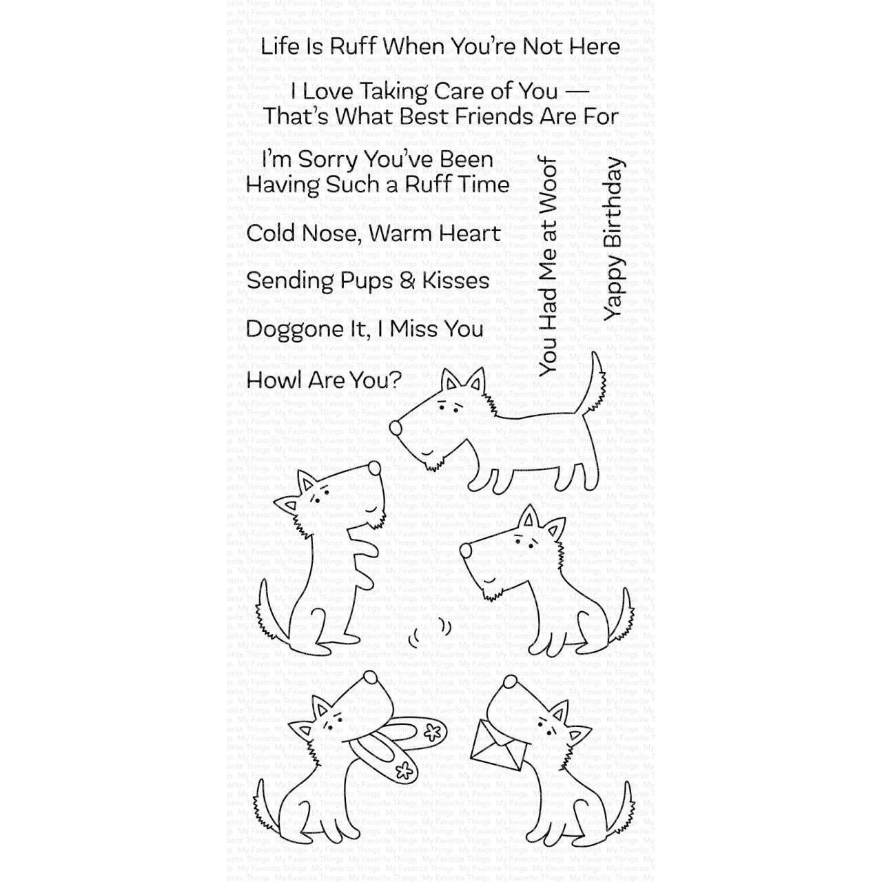 Pups & Kisses Stamp Set