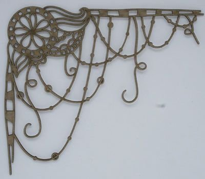 Dreamcatcher Corner Chipboard