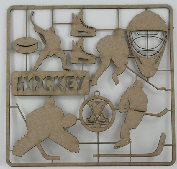 Hockey Chipboard Set