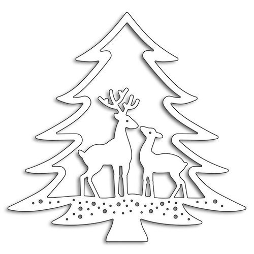 Deer In Tree Die