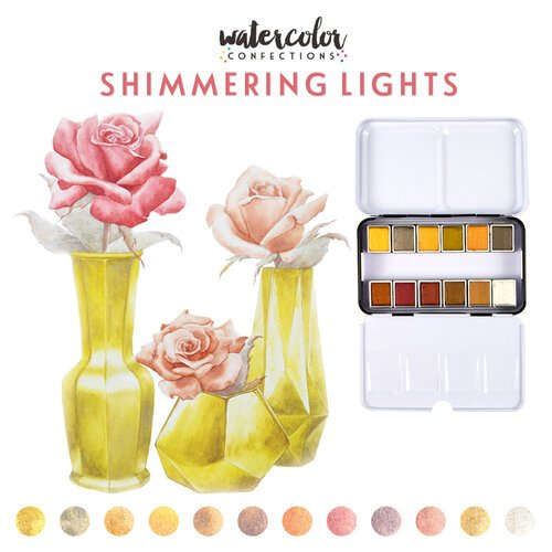 Prima Watercolor Confections Pans Shimmering Lights