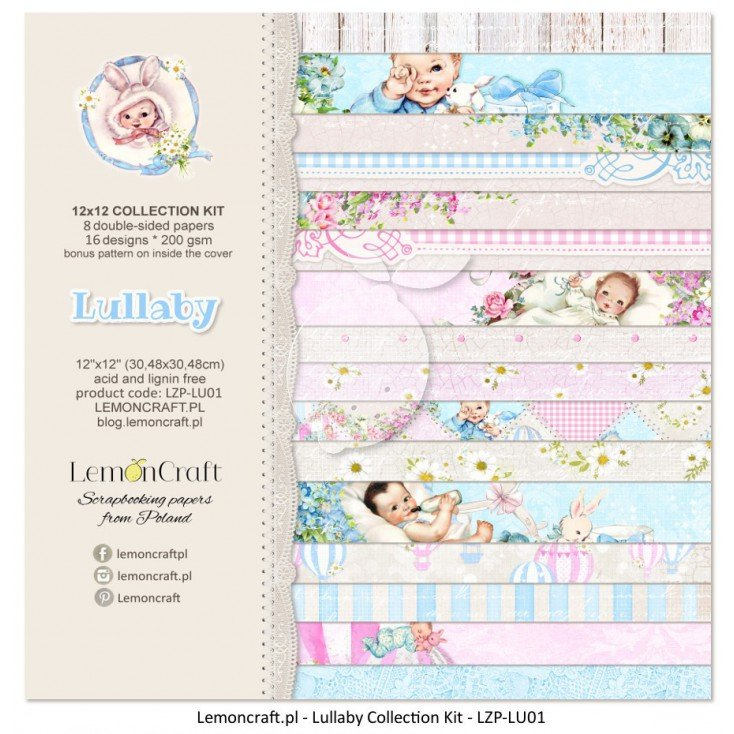 Lullaby Paper Pack 12 X 12