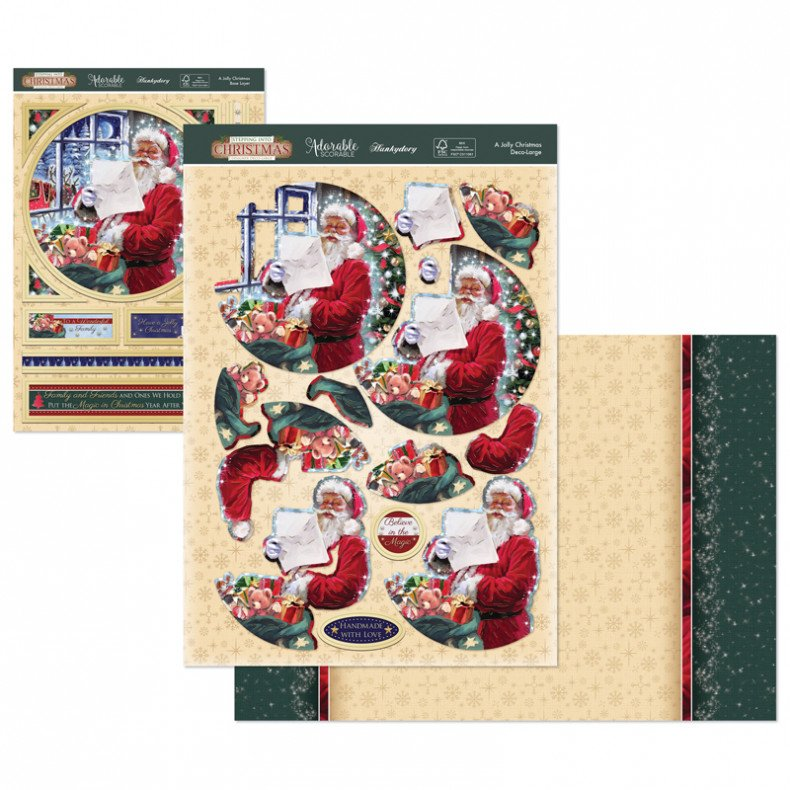 Luxury Topper Set A Jolly Christmas