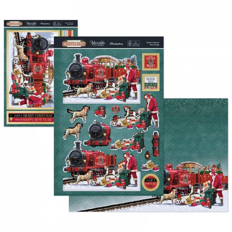 Luxury Topper Set Santa's Express