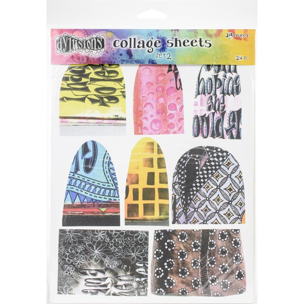 Dylusions Collage Sheets Set 2