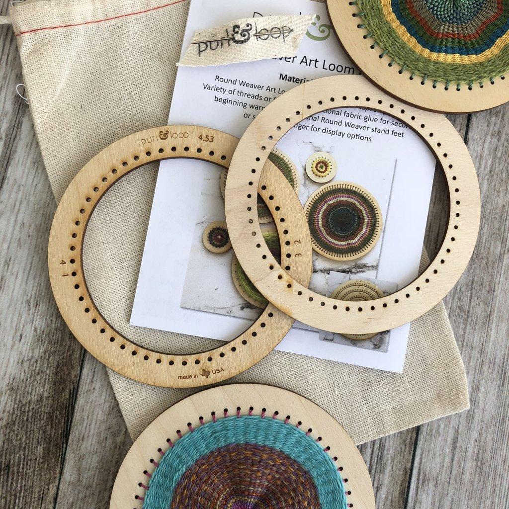 Round Weaver Art loom
