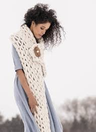 Arm Knit Wrap - Blue Sky Fibers