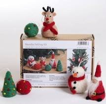 Needle Felted Christmas Ornament Kit - Ashford